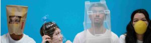 Munkavédelmi továbbképzés teázó a COVID védőoltásokról